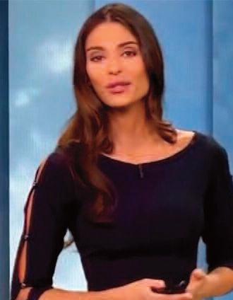 Tatiana silva nouvelle pr sentatrice m t o de tf1 et lci - Nouvelle presentatrice meteo tf1 ...